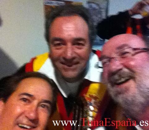 TunaEspaña, Don Bibiano, Don Patriarca, Don Musikito, Cancionero Tuna, canciones tuna