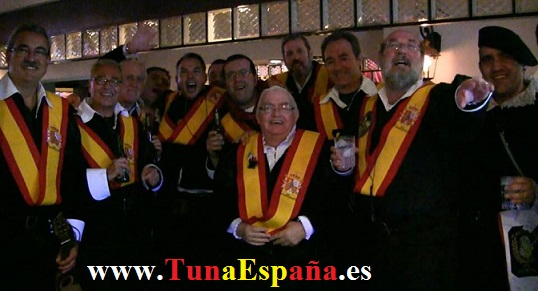 Tunas Universitarias, Tunas estudiantinas, Tunas de España, TunaEspaña, Don Dudo, Cancionero Tuna, canciones de tuna