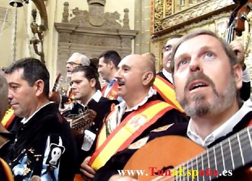 Tunas de España, Censo Tuna, Cancionero Tuna, Tuna Universitaria, Catedral Murcia, 05