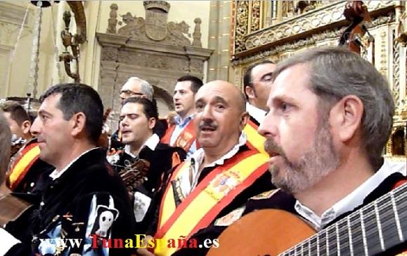 Tunas de España, Censo Tuna, Cancionero Tuna, Tuna Universitaria, Catedral Murcia, 06