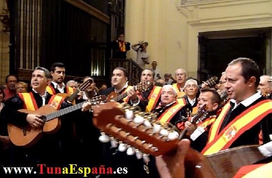 Tunas de España, Censo Tuna, Cancionero Tuna, Tuna Universitaria, Catedral Murcia, 07