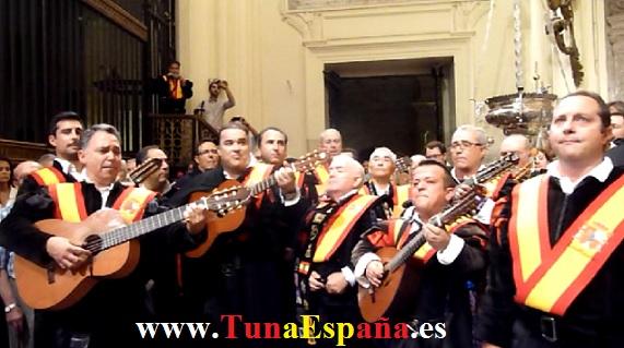 Tunas de España, Censo Tuna, Cancionero Tuna, Tuna Universitaria, Catedral Murcia, 09