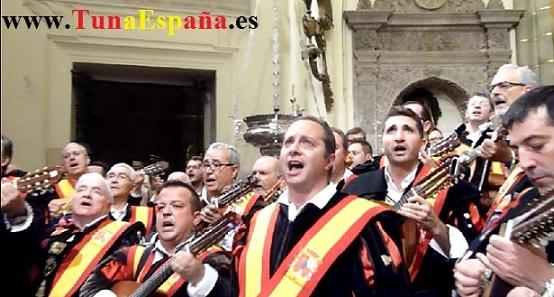 Tunas de España, Censo Tuna, Cancionero Tuna, Tuna Universitaria, Catedral Murcia, 10, canciones tuna