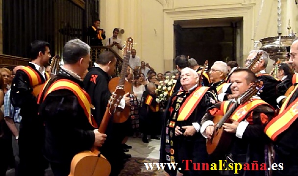 Tunas de España, Censo Tuna, Cancionero Tuna, Tuna Universitaria, Catedral Murcia, 14