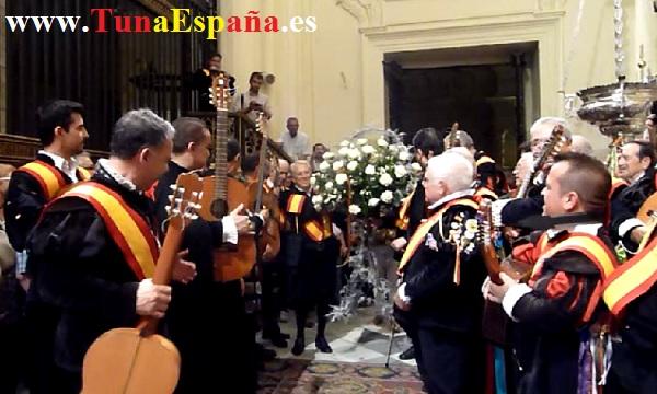 Tunas de España, Censo Tuna, Cancionero Tuna, Tuna Universitaria, Catedral Murcia, 16