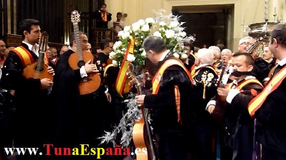Tunas de España, Censo Tuna, Cancionero Tuna, Tuna Universitaria, Catedral Murcia, 17
