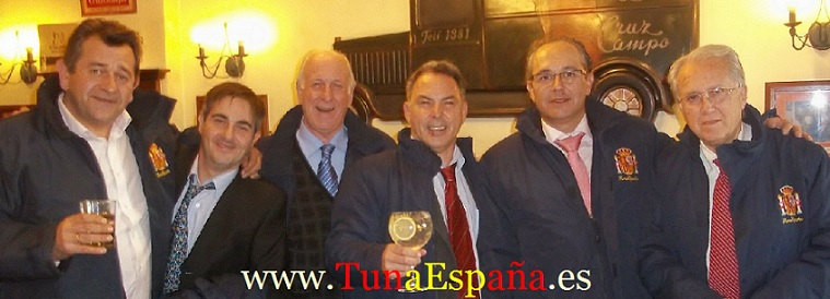 TunaEspaña, Don Visedo, Don Dudo, Don Radiopita, Don Niky Lauda, Don Gominas, Don Aberroncho, Tunos.com, Cancionero tuna
