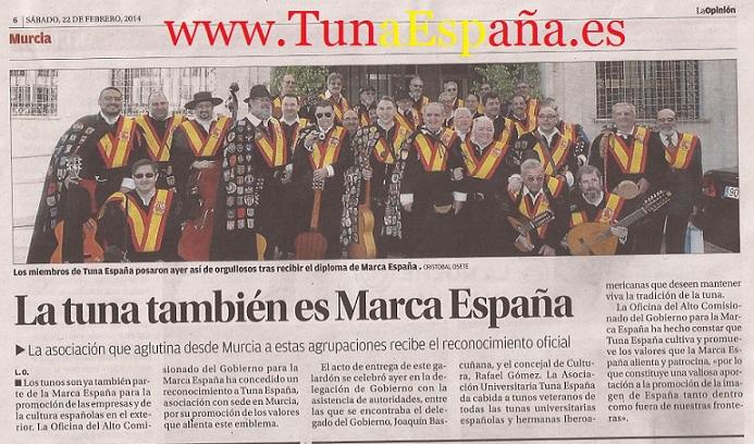 TunaEspaña, Marca España,70