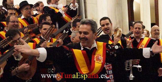 TunaEspaña, Tunas Españolas, Tunas Universitarias, Don Chulin, Don Maguila, cancionero tuna