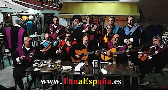 Tuna España , Tunas Universitarias, Tunas y estudiantinas, cancionero tuna, certamen Internacional  Costa Calida, buen tunar