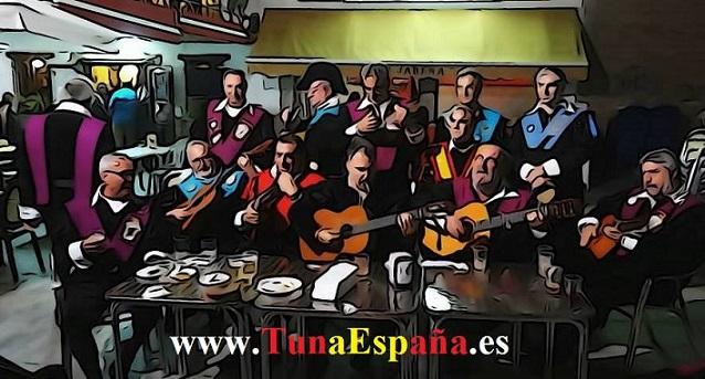 Tuna España , Tunas Universitarias, Tunas y estudiantinas, cancionero tuna, certamen Internacional Tuna Costa Calida, Tuna medicina Murcia