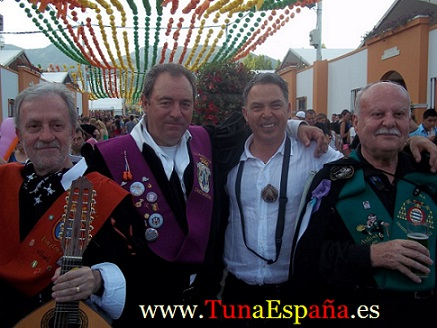 Tuna España , Tunas Universitarias, Tunas y estudiantinas, cancionero tuna, certamen Internacional Tuna Costa Calida, buen tunar, Don Dudo, Don Bibiano