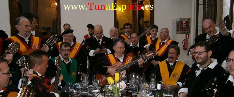 Tuna España , Tunas Universitarias, Tunas y estudiantinas, cancionero tuna, certamen Internacional Tuna Costa Calida, buen tunar, Don Dudo