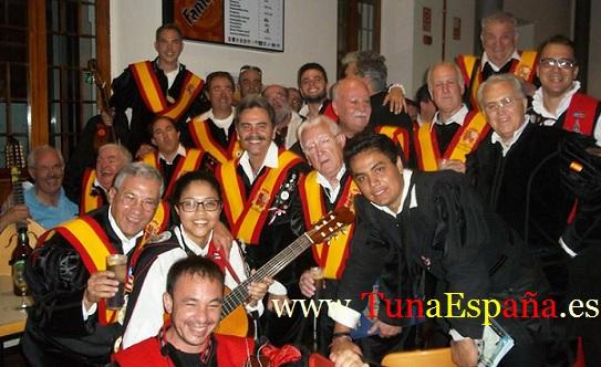 Tuna España , Tunas Universitarias, Tunas y estudiantinas, cancionero tuna, certamen Internacional Tuna Costa Calida, buen tunar, don Baron Beoncia