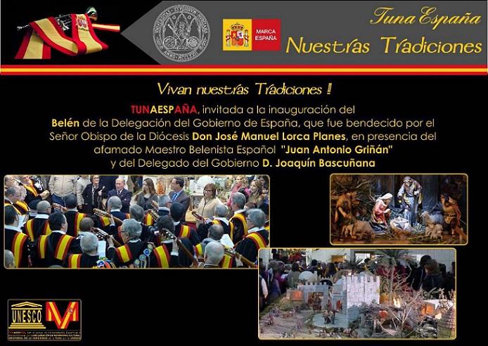 TunaEspaña, Carlos Espinosa Celdran, Don Dudo, Belen, Delegacion de Gobierno de España