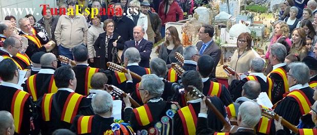 TunaEspaña, Delegacion Gobierno, Inauguracion Belen, Juan Antonio Griñan, cancionero tuna dism
