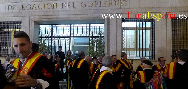 TunaEspaña, Delegacion Gobierno, Murcia, Inauguracion Belen, Murcia, Don Dudo, dism, certamen tuna