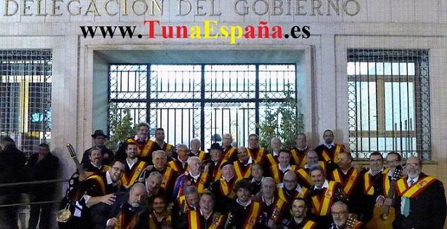 TunaEspaña, Delegacion Gobierno, Murcia, Inauguracion Belen, Murcia, dism, Certamen tuna. musica tuna