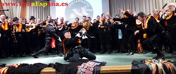 TunaEspaña, Paraninfo Universidad, Ensayo General, cancionero tuna