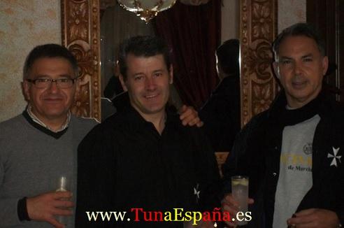 Tuna España , Tunas Universitarias, Tunas y estudiantinas, cancionero tuna, certamen Tuna Costa Calida, Brillantes, ronda la tuna