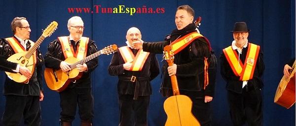 TunaEspaña, Don Dudo, Asilo Ancianos, Paco, Secre, cxancionero tuna