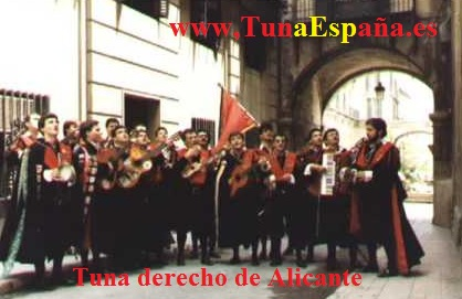 Tuna España, Tuna Derecho Alicante, Cancionero Tuna, QUE NO DARÍA,Canciones de Tuna,J. C. Berrueco