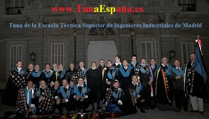 TunaEspaña, Certamen Tuna, Tuna Industriales upm, Cancionero tuna