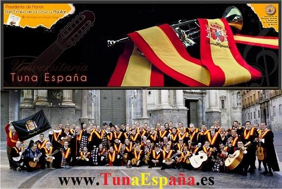 Tuna España, Certamen Tuna, Don Dudo, Canciones de Tuna, Cancionero, Musica de Tuna, hemiciclo Universidad, Ronda La Tuna, Portada