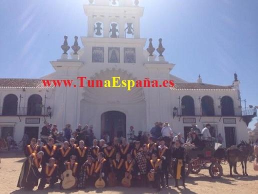 Tuna España, El Rocio, iglesia, Cancionero Tuna, Musica de tuna, tunaespaña, Ronda La Tuna