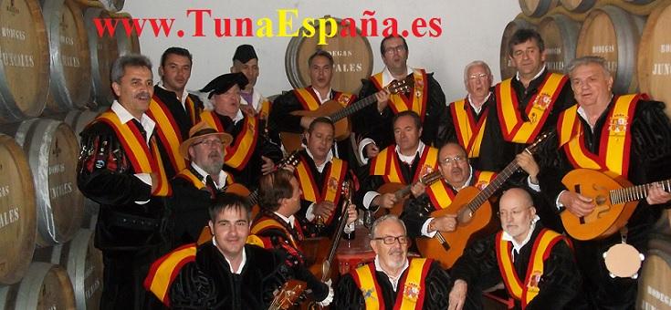 Tuna España, El Rocio,Bodegas Bollullos Del Condador,Cancionero Tuna, 01