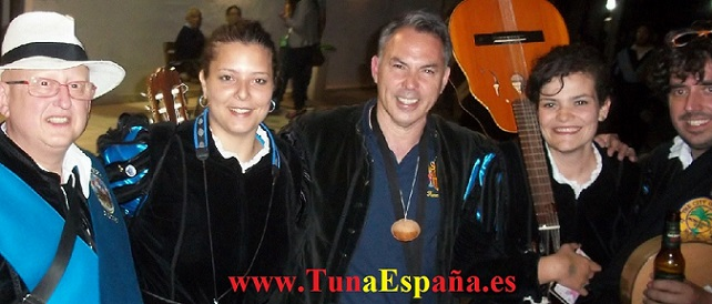 Tuna España, Tuna Femenina Almeria, cancionero tuna