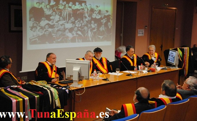 00-Tuna-España-Universidad-Murcia-Rector-Cobacho-90, Tunas Universitarias