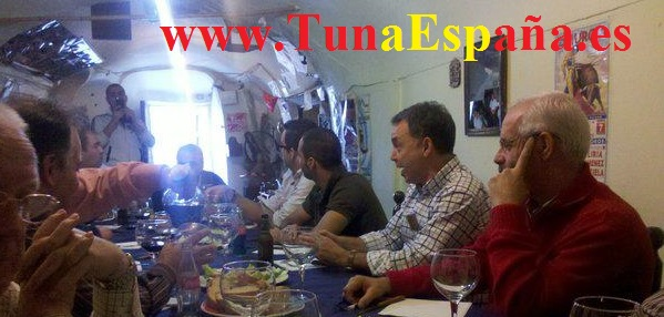 Tuna España, Cancionero tuna, certamen tuna, ronda la tuna, Cuevas Villar