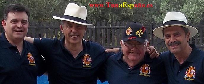TunaEspaña, Tuna España, Sardinada Casa Campo, Cancionero Tuna