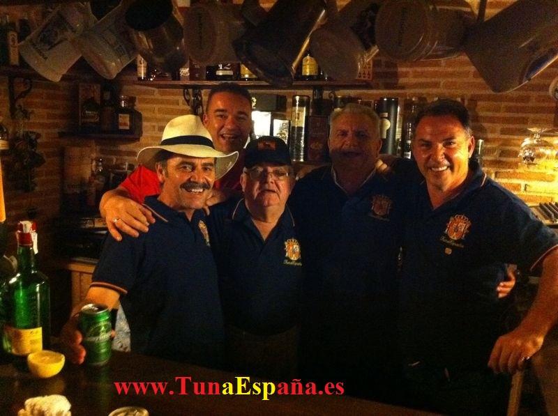 TunaEspaña, Cancionero Tuna, Tuna España, Sardinada Bullas, Barra, Don Dudo
