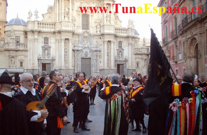 TunaEspaña, Tuna España, Cancionero Murcia, Canciones de tuna, Musica de Tuna, Catedral Murcia, Don Dudo, Ronda La Tuna