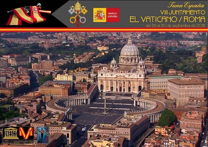Carlos Espinosa Celdran, Don Dudo, Roma, TunaEspaña, Vaticano, Dism 1