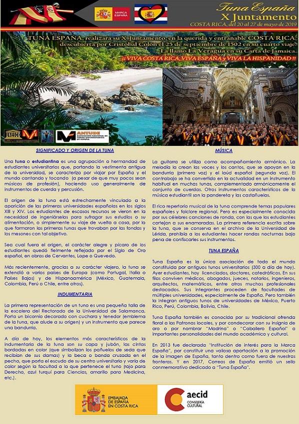 Tuna España – Universitaria » Blog Archive » Tuna España, Embajada Costa Rica (1)36