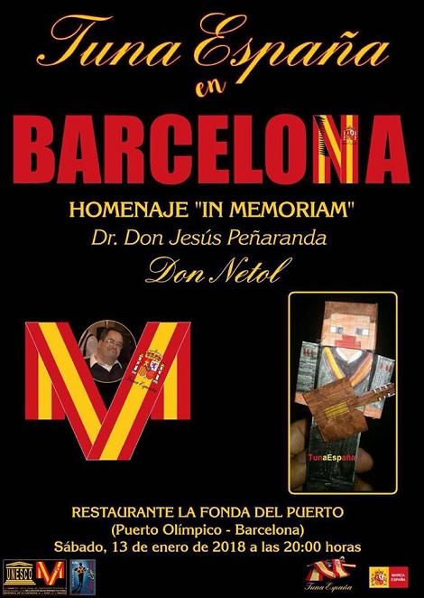 TunaEspaña, Carlos Espinosa Celdran, Don Dudo, Barcelona In Memorian