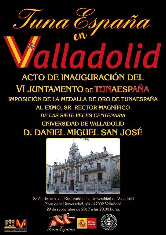 TunaEspaña, Carlos Ignacio Espinosa Celdran, Don Dudo, Universidad valladolid ,60