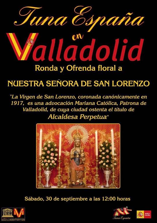 TunaEspaña, Carlos Ignacio Espinosa Celdran, Don Dudo, Universidad valladolid , Virgen de SAn Lorenzo60
