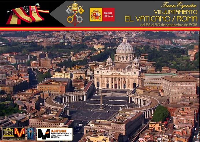 TunaEspaña, Don Dudo, Carlos Ignacio Espinosa Celdran, Roma, El Vaticano