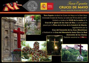 TunaEspaña, Don Dudo,Carlos Espinosa Celdran,CARTEL CRUCES 2017, Dism