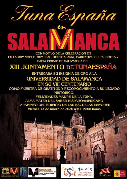 TunaEspaña, Juntamento Salamanca, DonDudo, Carlos Espinosa, Universidad Salamanca