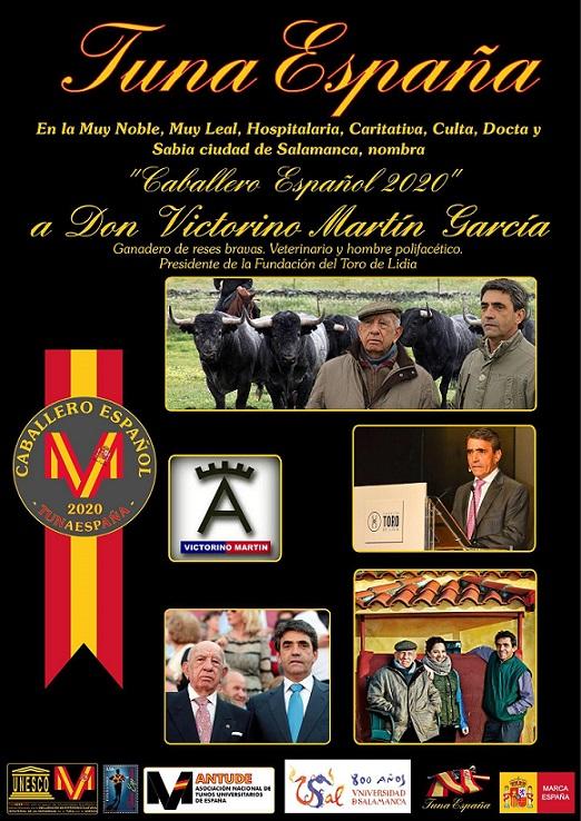 TunaEspaña, Juntamento Salamanca, DonDudo, Carlos Espinosa, caballero español, victorino martin