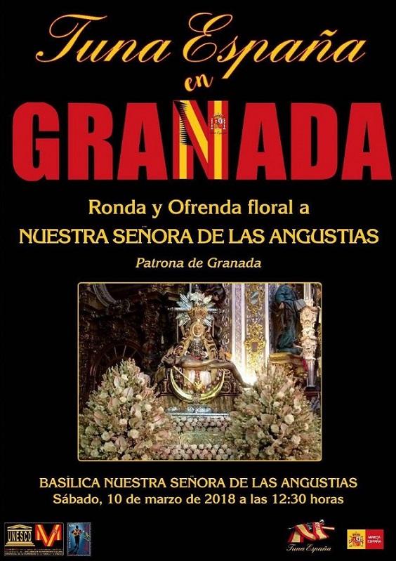 TunaEspaña, Tuna España, DonDudo, Don Dudo, Carlos Espinosa Celdran, Granada, Dism Virge de las Angustias