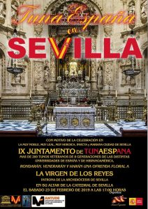 TunaEspaña,virgen, Catedral Sevilla,juntamento, Carlos Espinosa Celdrán , Sevilla