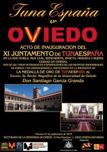 juntamento-tunaespaña- Rector Universidad oviedo -don-dudo-carlos-espinosa-celdran