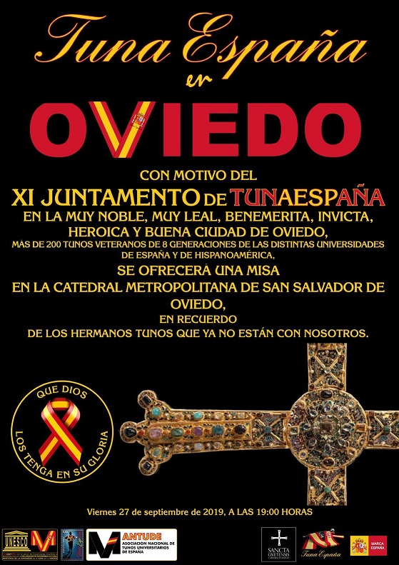 juntamento-tunaespaña-oviedo Misa-don-dudo-carlos-espinosa-celdran