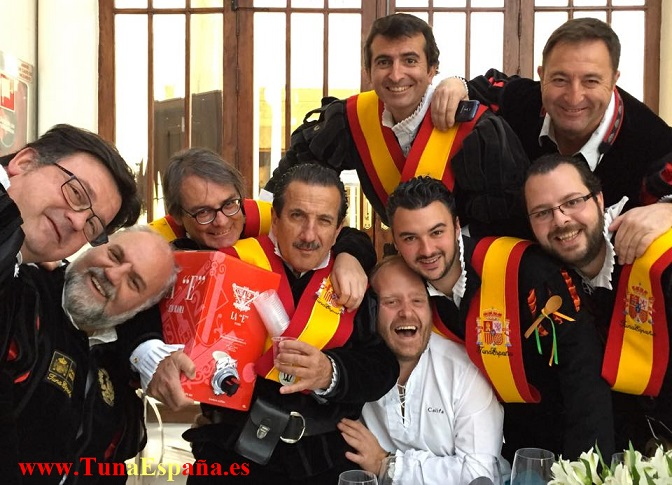 TunaEspaña, Musica de Tuna, Bautizo Tuna, Juntamento , Cadiz, Canciones de tuna